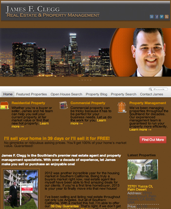 NEW LAUNCH: James F. Clegg Real Estate Group