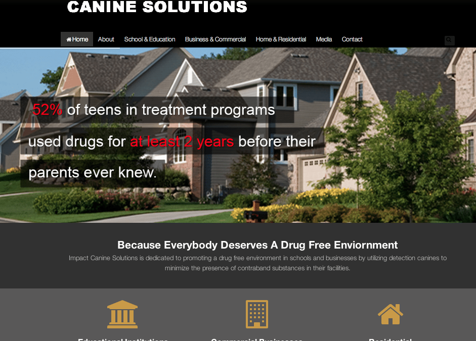 WEBSITE LAUNCH: Impact Canine Solutions