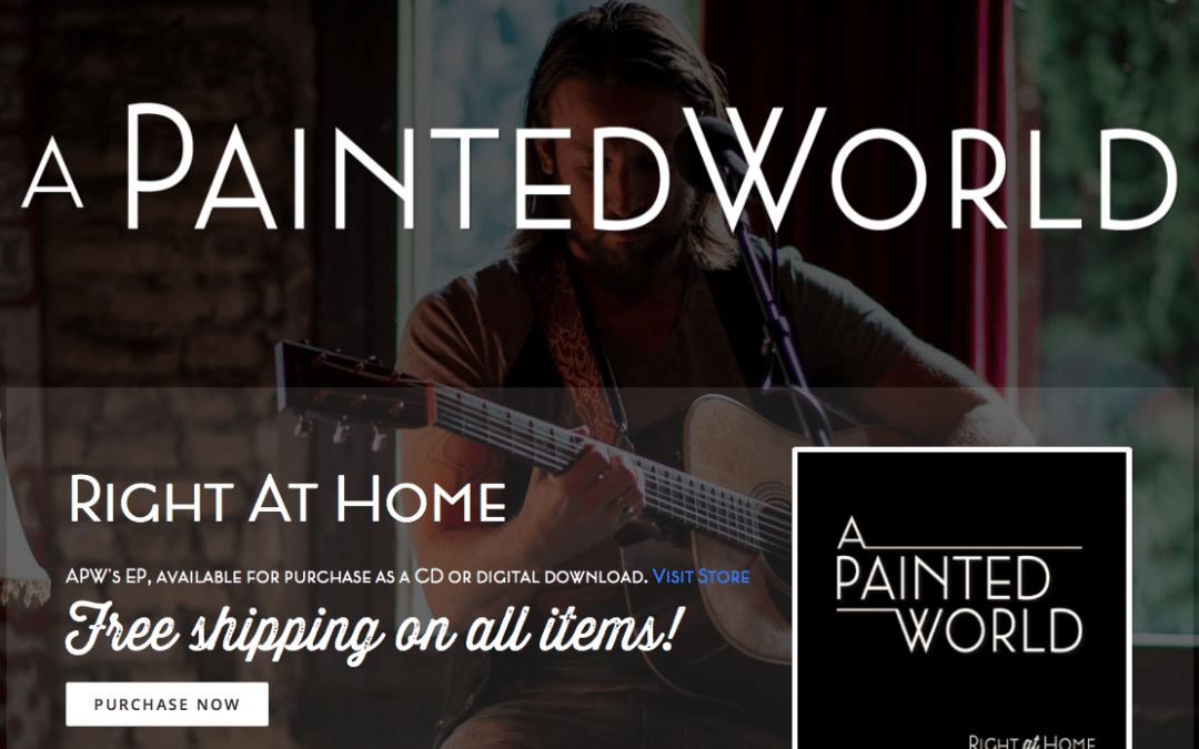 WEBSITE LAUNCH: A Painted World
