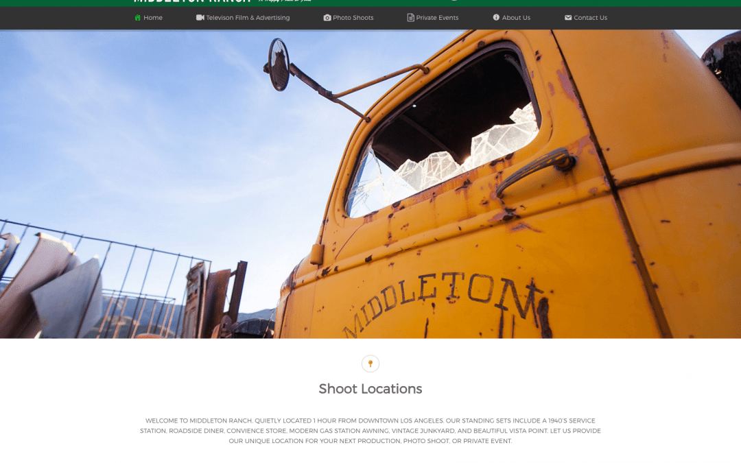 WEBSITE LAUNCH: Middleton Ranch