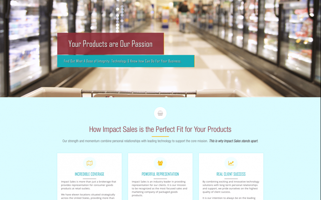 NEW LAUNCH: Impact Sales