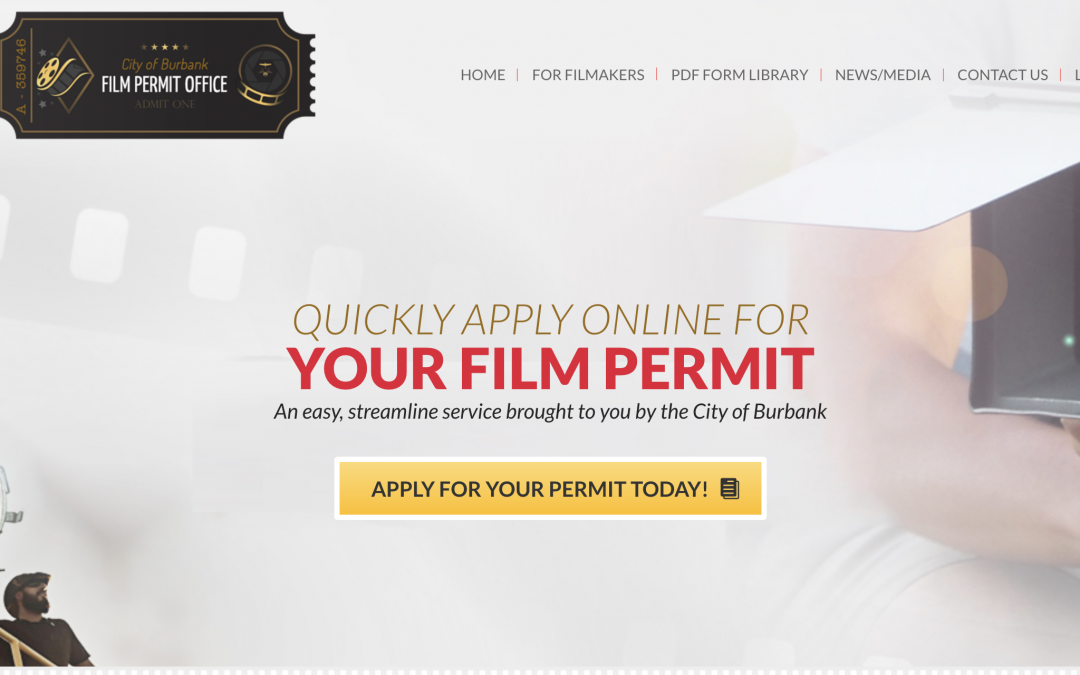 City of Burbank Film Permit Office