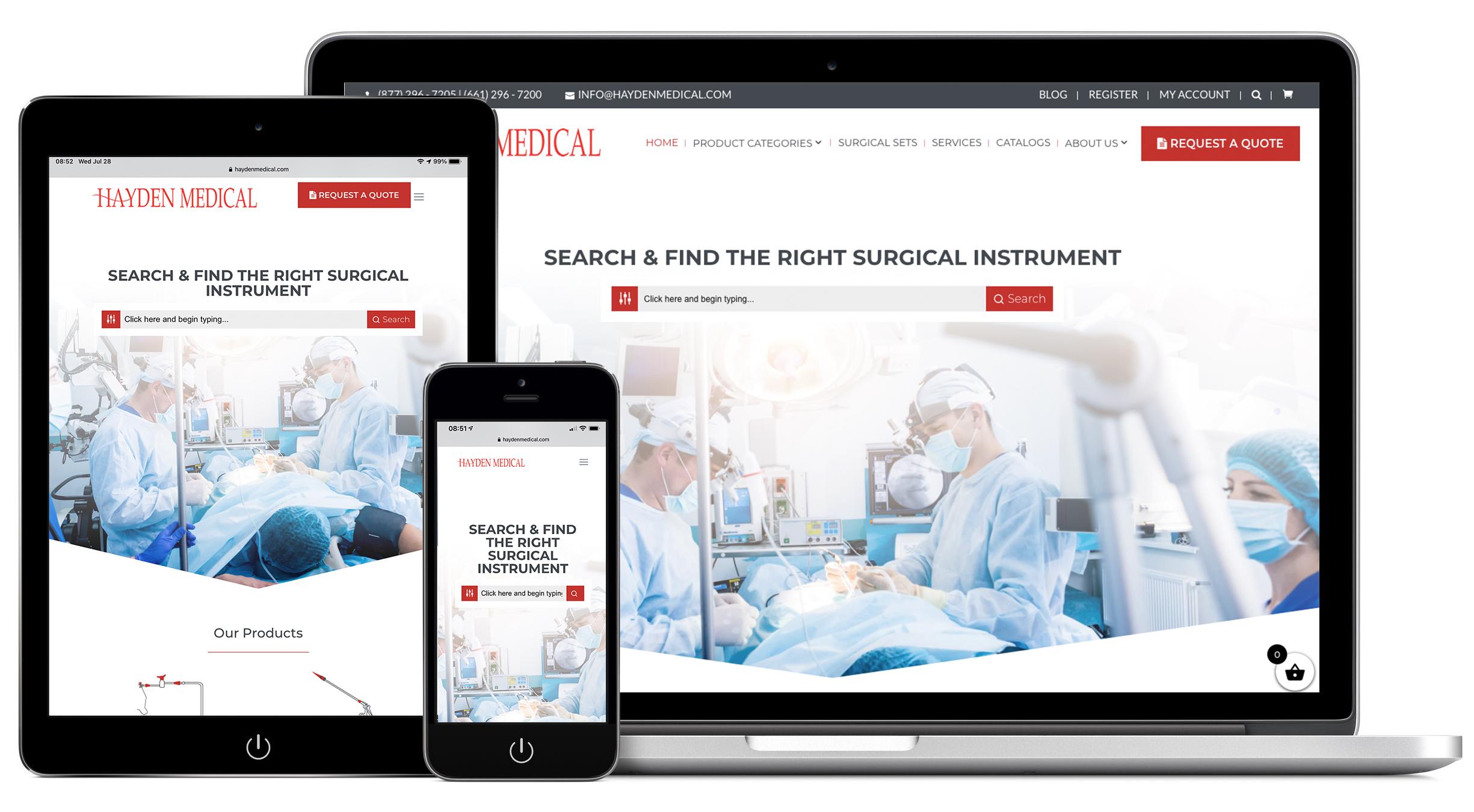 Hayden Medical Website - Backhouse Media